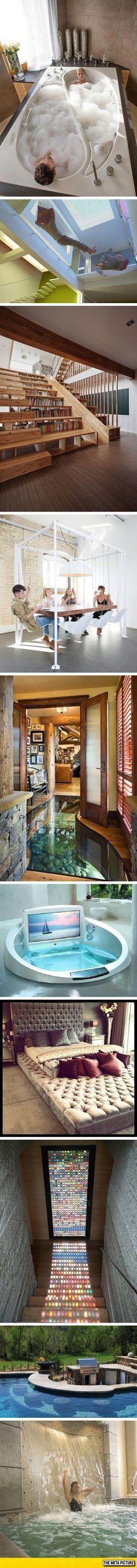 Isso que é uma casa dos sonhos!!!!!!!!!!