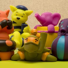 B. Curious Toys - Squirts http://www.mybtoys.com/toys/curious/squirts/