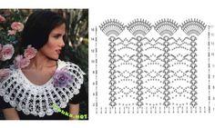 Châles et capelines : modèles et grilles à imprimer ! - Crochet Passion