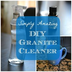 DIY Granite Cleaner