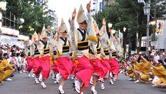 Tokyo Koenji Awaodori dance festival.