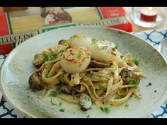 Truffle Miso Fettuccine with Seared Scallops -松露味噌意大利面 – The MeatMen – Your Local Cooking Channel