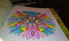 My first coloring project