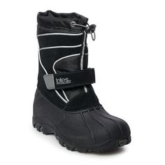 totes Todd Boys' Winter Boots, Black