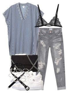 """Untitled #544"" by hatsandsundays ❤ liked on Polyvore featuring OneTeaspoon, Monki, STELLA McCARTNEY, adidas and Forever 21"