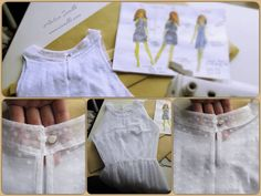 Summer dress / Pattern / Sewing by Iwakki.
