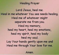 Prayer Quotes For Healing - Bing Immagini Faith Prayer, God Prayer, Power Of Prayer, Prayer Quotes, Faith In God, Bible Quotes, Qoutes, Prayer Verses, Prayer Ideas
