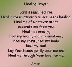 Jesus Daily Quotes Family | Most people today are looking for healing. Whether it is healing of ...