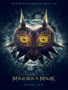 Inspired+by+Legend+of+Zelda,+Majoras+Mask+game+title+this+is+my+reimagining+of+the+game+title+as+if+it+were+a+movie+poster.