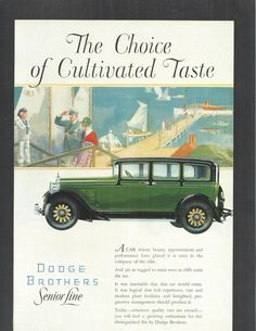 Old Ad for 1928 Dodge Brothers Car | eBay