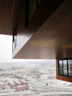 The Carve - Oslo Barcode - ProdEX, Rustik - Projects - Prodema - Natural Wood Beauty