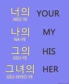 learn a few Korean words
