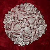 Ravelry: Flowering Pine Doily #D-122 pattern by The Spool Cotton Company