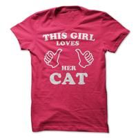 This Girl Loves Her Cat