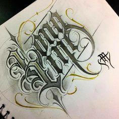 Calligraphy Fonts Alphabet, Tattoo Fonts Alphabet, Calligraphy Tattoo, Typography Alphabet, Tattoo Script, Tupac Tattoo, Tattoo Lettering Design, Chicano Lettering, Graffiti Lettering Fonts