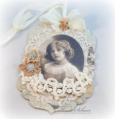 Vintage Style Gift Tag