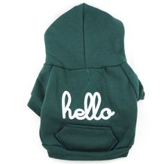 Green Hoodie by Hello Apparel