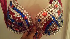 Custom Made to Order bra 34B available to ship. by Smokinghotdivas, $50.00