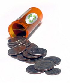 This article is about ways to reuse empty pill bottles. It includes basic ways to reuse and recycle them as well as craft projects with pill bottles. Medicine Bottle Crafts, Pill Bottle Crafts, Medicine Bottles, Prescription Bottles, Pill Bottles, Plastic Bottles, Reuse Recycle, Reduce Reuse, Household