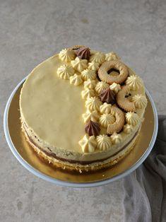 Colors in the Kitchen: Pilóta vaníliás karika torta Fudge, Tiramisu, Mousse, Food And Drink, Sweets, Cakes, Meals, Cooking, Colors