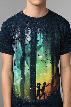 A Walk In The Woods Tee - Urban Outfitters $28.00