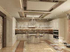 Kitchen Design in Dubai, Kitchen Design to Abu Dhabi, Photo 1 House, Interior, Modern House, Luxury Kitchens, Mansion Interior, Ceiling Design, Home Decor, Kitchen Design, Smart Kitchen