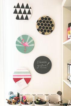 1001 ideen wie sie eine pinnwand selber machen corchos y eventos. Black Bedroom Furniture Sets. Home Design Ideas