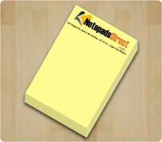 Get custom printed sticky notepads, adhesive notepads, post it notes, promotional note pads for cheaper Personalized Sticky Notes, Custom Sticky Notes, Pms Colour, Color, Sticky Pads, Pastel Paper, Adhesive, Yellow, Prints