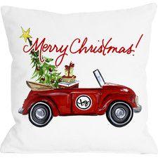 Christmas Bug Pillow