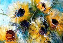Summer Dreams by Sandy Strohschein Watercolor ~ 11 x 14