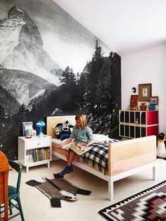 Kid Tested Approved Grown Up Decorating Lessons Inspired By Kids Rooms Mountain Muralkids