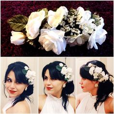My new creation for my handcrafted Bride collection headbands ! #arbolito #arbolitomexart #art #artist #folk #folkart #musicfestival #bridal #bride #wedding #bridefashion #handcrafted #haircandy #hairpiece #headband #flowers #white #weddingidea #weddinginspiration #weddingaccesory #bohemian #boho #indie #gypsy #beautifulbride #inspiration #liveoriginally #brideandgroom