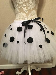 Halloween Tulle Costume, 101 dalmations, adult, teen, plus size : Ready To Ship Dalmatian Halloween, Dalmatian Costume, Baby Girl Halloween, Dalmation Makeup, Puppy Costume, Couple Halloween, Costumes For Work, Halloween Costumes For Teens, Family Costumes