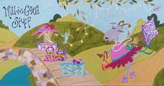 Millie Goat's Stuff/Illustration by Susan Pepe