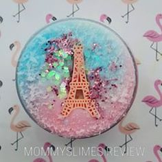 diy slime Carousel in Paris from white_whale_slime. You guys I love her account and slimes so much! Definitely one of the most underrated slime accounts imo. Diy Crafts Slime, Slime Craft, Slime Pictures, Glitter Slime, Glitter Bomb, Types Of Slime, Pretty Slime, Mermaid Slime, Slimy Slime