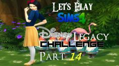 The Sims 4: Disney Legacy Challenge | Part 14 | Family Day