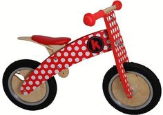 Vélo en Bois - Kurve Red Dotty