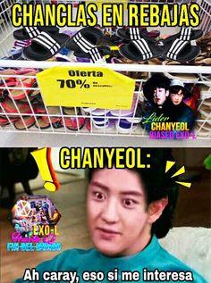 Exo Chanyeol, Kyungsoo, Bts Memes, Exo 12, Drama Memes, Bts And Exo, Kpop, Chanbaek, Bigbang