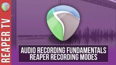 Become a recording Ninja with our latest #ReaperDAW tutorial on Recording Modes. https://www.youtube.com/watch?v=c7AYjah8hvI&list=PLh1Qaso9T1U0B17AXNLlvmUFuF8lWX-o8