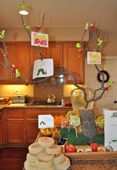 The Very Hungry Caterpillar Baby Shower - Make Life Lovely