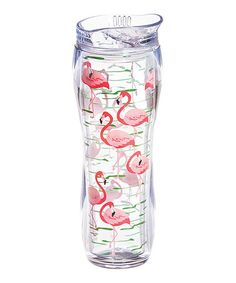 Another great find on #zulily! Flamingo Curved 16-Oz. Tumbler #zulilyfinds
