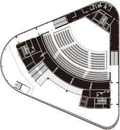 Aula Medica,Third  Floor Plan