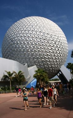 Spaceship Earth, Epcot, Walt Disney World (there's a ride inside)