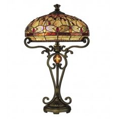 Dale Tiffany - TT10095 - Dragonfly Table Lamp @ Lamps.com