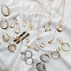 Jena and Mena Necklace Set - accessories - Jewelry Keep Jewelry, Dainty Jewelry, Cute Jewelry, Gold Jewelry, Jewelry Accessories, Women Jewelry, Jewellery, Vintage Jewelry, Unique Jewelry