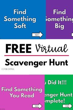Get this FREE virtual scavenger hunt. The perfect addition to any distance learning or teletherapy session. Use these in PowerPoint or Google Slides. Your kids will LOVE these and so will you! Grade 1, First Grade, Scavenger Hunt For Kids, Theme Days, End Of Year, Getting To Know, Distance, Remote, Oatmeal