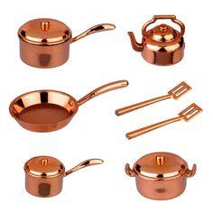 10-Pc. Copper Cookware Set