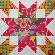 2013 Aurifil BOM - I love this block