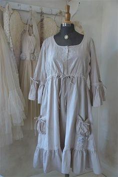 Dress True Life Linen Color KOMMER SNART via Hagagården. Click on the image to see more!