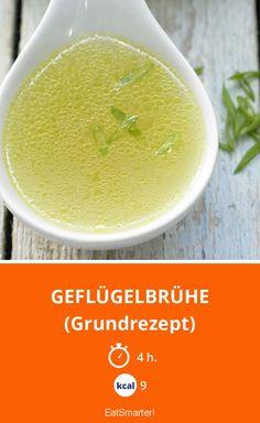 Geflügelbrühe - (Grundrezept) - smarter - Kalorien: 9 Kcal - Zeit: 4 Std. | eatsmarter.de